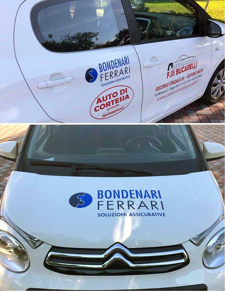 Bondenari e Ferrari Auto di cortesia